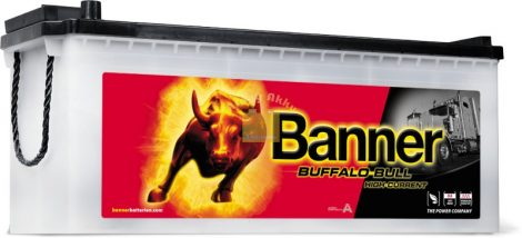 BANNER Buffalo Bull 12V 150Ah 1150A  teherautó akkumulátor