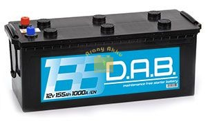 DAB Teherautó akkumulátor 12V 155Ah 1000A