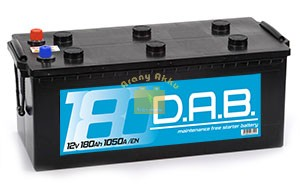 DAB Teherautó akkumulátor 12V 180Ah 1050A