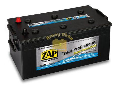 ZAP Akkumulátor 12V 225Ah 1150A Bal+ Zap Plus (72511)