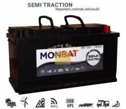 Monbat Semi Traction 12V 90Ah jobb+ munka akkumulátor (957051)