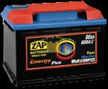 ZAP Energy Plus munka akkumulátor 12 V 80 Ah Jobb+ (zap80mu)