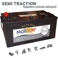Monbat Semi Traction 12V 125ah munka akkumulátor (960002)