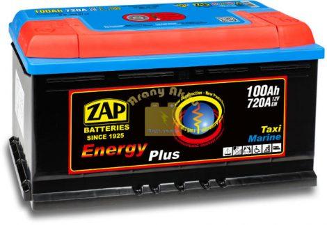 ZAP Energy Plus munka akkumulátor 12 V 100 Ah Jobb+ (zap100mu)