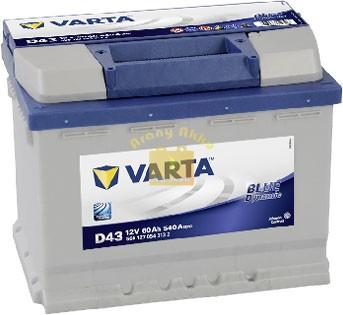 Varta Blue Dynamic 60 Ah 540A B+