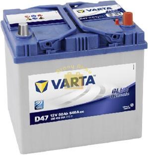 VARTA Blue Dynamic 12V 60Ah 540A ASIA akkumulátor