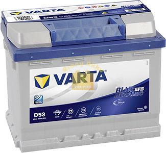 VARTA N60 Blue Dynamic EFB 60Ah 640A Jobb+ (560500064) akkumulátor