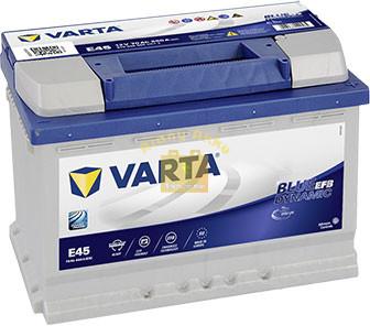 VARTA Blue Dynamic EFB 70Ah 760A Jobb+ (570 500 076)
