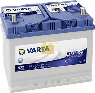 VARTA Blue Dynamic EFB 72Ah 760A Jobb+ (572 501 076) akkumulátor