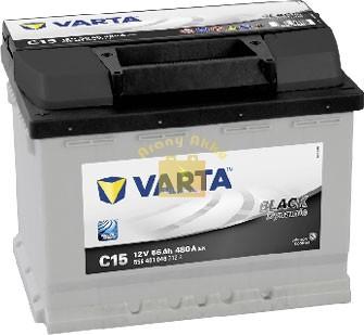 VARTA Black Dynamic 12V 56Ah 480A bal+ akkumulátor