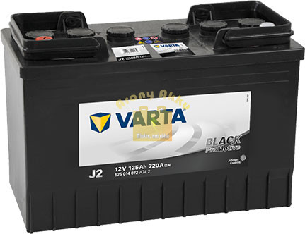 VARTA Promotive Black 12V 125Ah 720A Bal+ (625014072A742)  akkumulátor