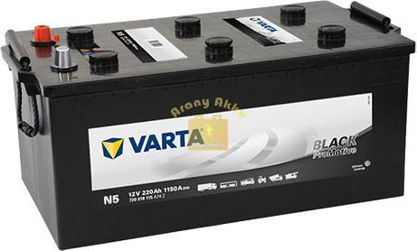 VARTA Promotive Black 220Ah 1150A Bal+ (720018115A742) akkumulátor