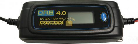 DAB 4A Digitális akkumulátor töltő