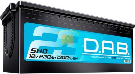 DAB Teherautó akkumulátor SHD 230Ah 1300A