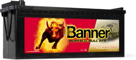 Banner Buffalo Bull EFB Akkumulátor 12V 190Ah 1050A Bal+ (EFB 69017)  teherautó akkumulátor