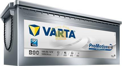 Varta Promotive Silver 190Ah EFB 1050A (690500105)