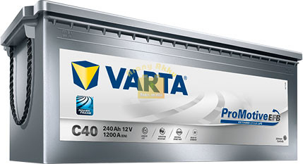 Varta Promotive Silver EFB 12V 240Ah / 1200A (740500120E652) akkumulátor
