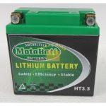 Motobatt Líthium 12V 3,3 Ah akkumulátor