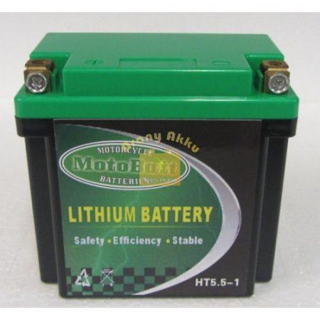 Motobatt Líthium 12V 5,5 Ah akkumulátor