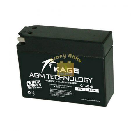 KAGE MF YT4B-BS motorakkumulátor