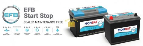 Monbat Start-Stop (EFB) 12V 90Ah 840A