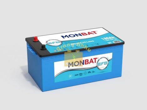 Monbat Teherautó Akkumulátor 12V 180Ah 1100A EFB
