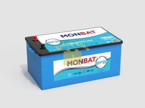 Monbat Teherautó Akkumulátor 12V 185Ah 1100A EFB