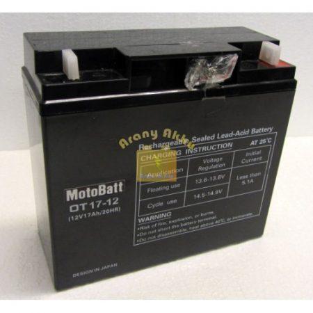 Motobatt UPS 12V 17Ah akkumulátor