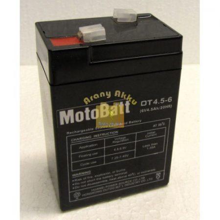 Motobatt UPS 6V 4,5Ah akkumulátor