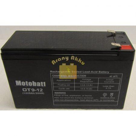 Motobatt UPS 12V 9,0Ah akkumulátor