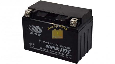 OUTDO BIKE Bull YT12A-BS 12V 10Ah Motor akkumulátor