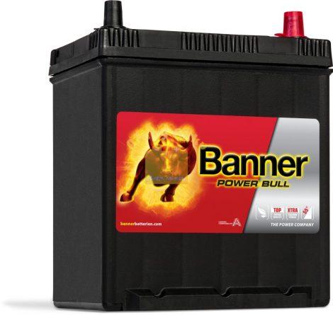Banner Power Bull 40Ah 300A jobb+ Ázsia (P4026) akkumulátor