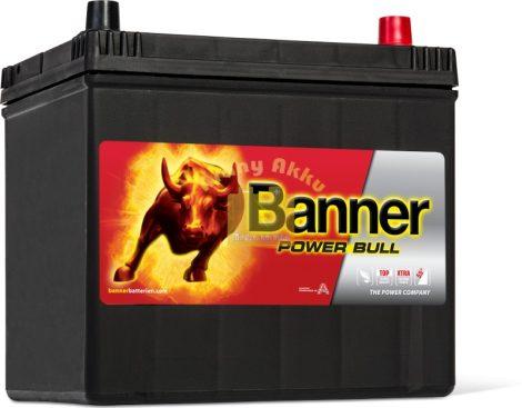 Banner Power Bull 60Ah 480A Jobb+ ÁZSIA akkumulátor