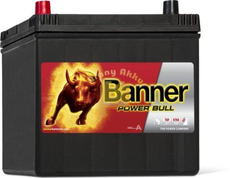 BANNER Power Bull 12V 60Ah 510A ASIA bal+ akkumulátor
