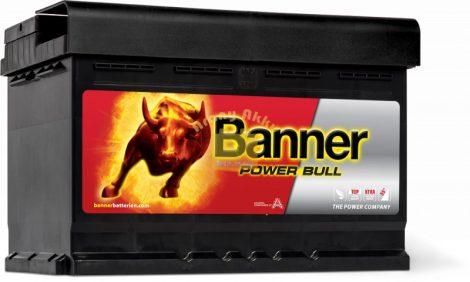 Banner Power Bull 72Ah 660A Jobb+ akkumulátor