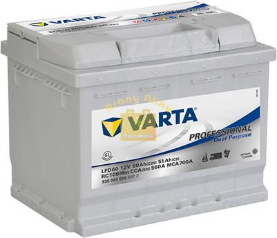 VARTA Professional Dual Purpose 60Ah 560A Jobb+ (930060056) akkumulátor