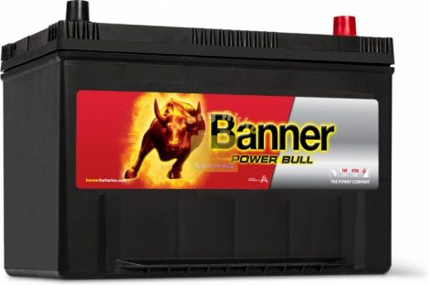 BANNER Power Bull 12V 95Ah 740A ASIA akkumulátor