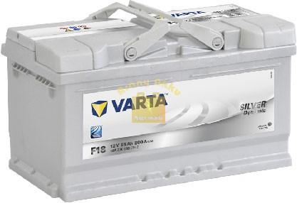 VARTA F18 Silver Dynamic 85Ah 800A Jobb+ (585 200 080) akkumulátor