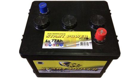 """Start Power 6V 77Ah """"Trabant"""" akkumulátor"""