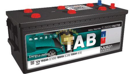 TAB Motion Pasted TAB150P 12V 190/180/150Ah Bal+ munka akkumulátor