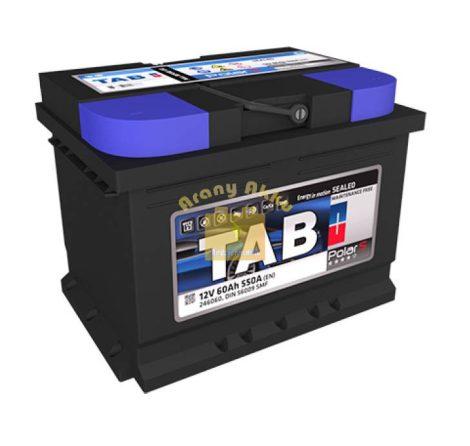 TAB Polar 60 Ah 600A B+ akkumulátor
