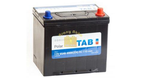 TAB Polar S 65 Ah 650A Asia J+ akkumulátor