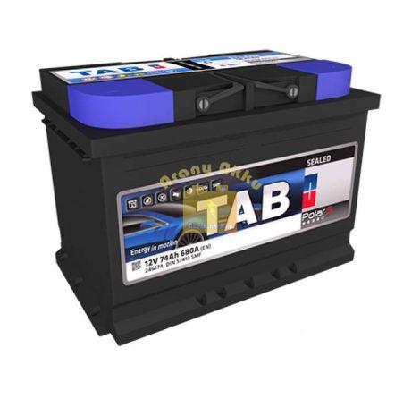 TAB Polar S 74 Ah 680A B+ akkumulátor