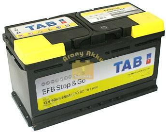 TAB Stop & Go EFB 90 Ah 850A