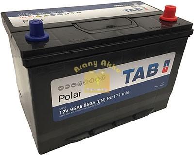 TAB Polar autóakkumulátor 12V 95Ah