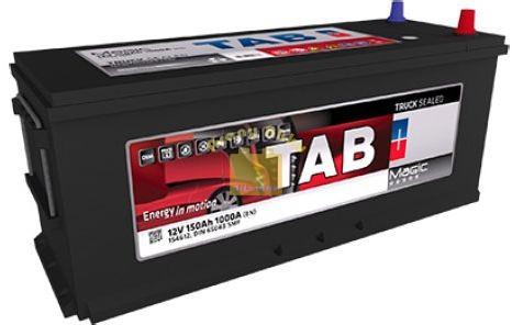 TAB Magic Truck akkumulátor 12V 150Ah 1000A  teherautó akkumulátor