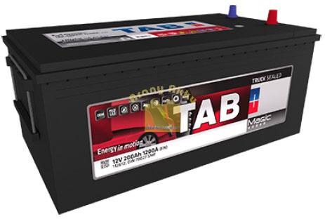 TAB Magic Truck akkumulátor 12V  225Ah 1300A  teherautó akkumulátor