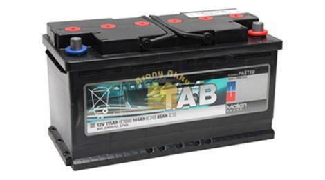 TAB Motion Pasted TAB85P 12V 115/105/85Ah Jobb+ munka akkumulátor