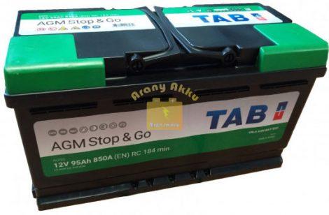 TAB Stop & Go AGM 95 Ah 850A akkumulátor