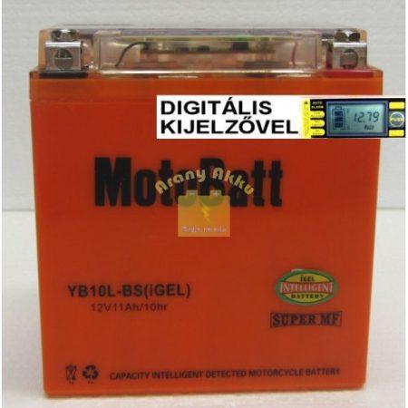 Motobatt Bike bull DS I-GEL 12V 11Ah YB10L-BS motor akkumulátor